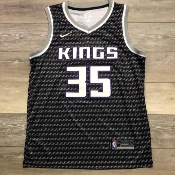 meet f3acc 26ba8 Marvin Bagley Sacramento Kings Nike Jersey Large